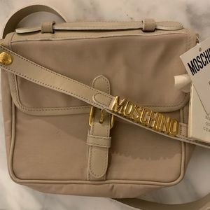 Rare Vintage Moschino Redwall Bag with tags